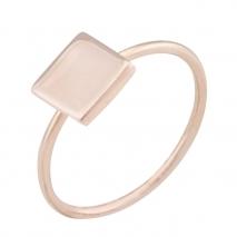 Loisir δαχτυλίδι 04L15-00110 από ροζ ορείχαλκο