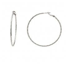Oxette σκουλαρίκια 03X15-00065 κρίκοι από ασημί ορείχαλκο