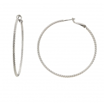 Oxette σκουλαρίκια 03X15-00067 κρίκοι από ασημί ορείχαλκο