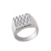 Oxette δαχτυλίδι 04X01-03512 από επιπλατινωμένο ασήμι 925ο