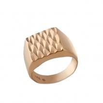 Oxette δαχτυλίδι 04X05-01329 από ροζ επιχρυσωμένο ασήμι 925ο