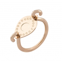 Loisir Ring 04L15-00122 with Rose Gold Brass
