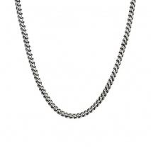 Oxette κολιέ 01X03-00185 αλυσίδα από ανοξείδωτο ατσάλι (Stainless Steel)