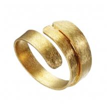 Oxette δαχτυλίδι 04X05-01359 από επιχρυσωμένο ασήμι 925ο