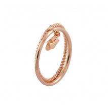 Loisir δαχτυλίδι 04L15-00149 αστέρι από ροζ ορείχαλκο