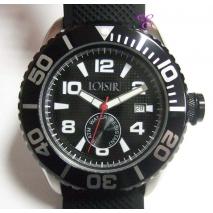 Loisir | Ρολόι Loisir από ανοξείδωτο ατσάλι (Stainless Steel). [11L07-00137-BLACK]