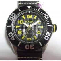 Loisir | Ρολόι Loisir από ανοξείδωτο ατσάλι (Stainless Steel). [11L07-00137-YELLOW]