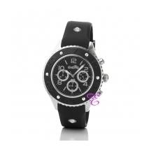 Oxette   Γυναικείο ρολόι Oxette από ανοξείδωτο ατσάλι στην κάσα με λουράκι από καουτσούκ (Rubber). [11X07-00092]