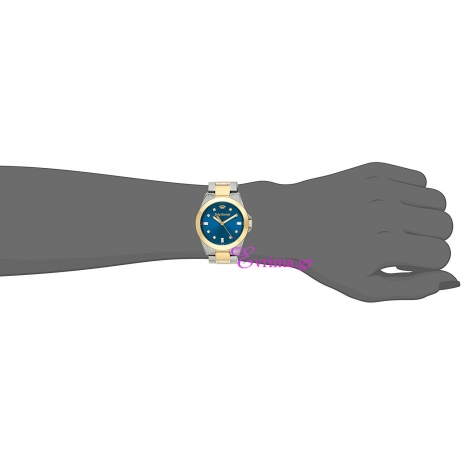 Juicy Couture Ρολόι από δίχρωμο ανοξείδωτο ατσάλι με μπρασελέ 1901283 στο χέρι