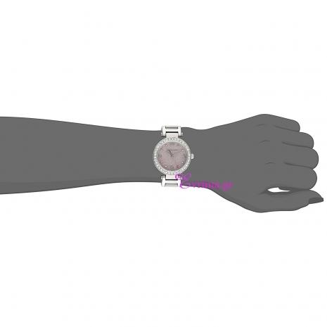 Juicy Couture Ρολόι από ανοξείδωτο ατσάλι με μπρασελέ 1901327 στο χέρι