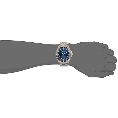 Hugo Boss Ρολόι από ανοξείδωτο ατσάλι με μπρασελέ 1513230 εικόνα 2