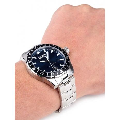 Hugo Boss Ρολόι από ανοξείδωτο ατσάλι με μπρασελέ 1513230 εικόνα 3