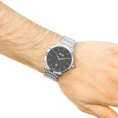 Hugo Boss Ρολόι από ανοξείδωτο ατσάλι με μπρασελέ 1513259 εικόνα 2