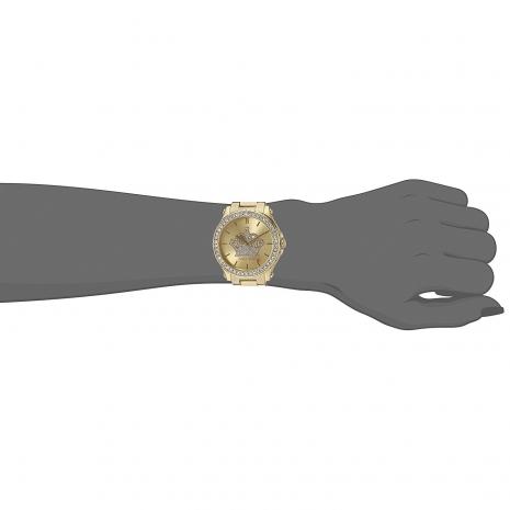 Juicy Couture ρολόι από χρυσό ανοξείδωτο ατσάλι με μπρασελέ 1901472 εικόνα 2