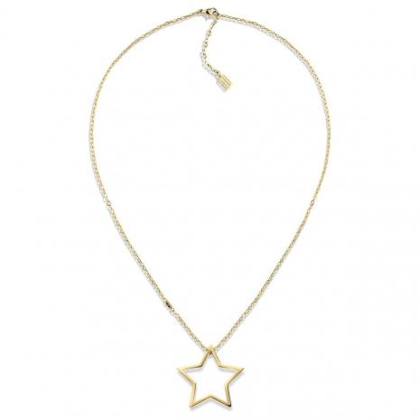 Tommy Hilfiger γυναικείο κολιέ από χρυσό ανοξείδωτο ατσάλι σε σχέδιο αστέρι 2700851 εικόνα 2