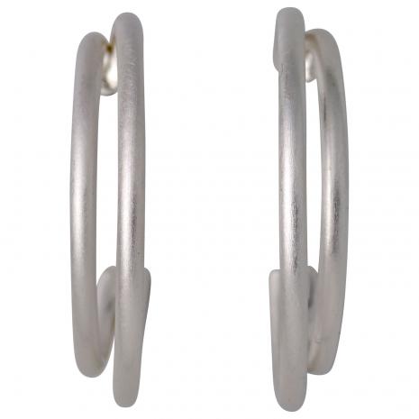 Pilgrim σκουλαρίκια (κρίκοι) από ασημί ορείχαλκο 101716033 εικόνα 2