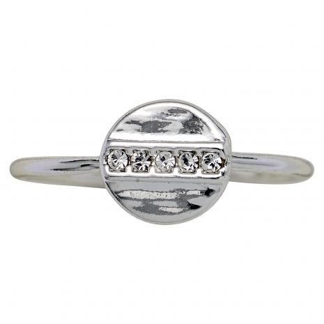 Pilgrim δαχτυλίδι από ασημί ορείχαλκο με ημιπολύτιμες πέτρες (κρύσταλλοι quartz) 161726004 εικόνα 2